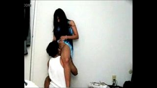 desi girl licked in standing xnxx sex position by bf