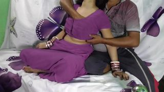 Indian Anita bhabi ki chudai perple saree me Desi video indian xnxx video