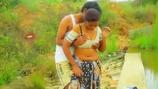 Telugu sex videos hot mallu aunty boobs pressing outdoor